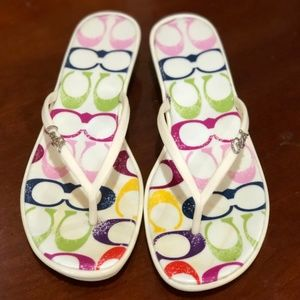 Coach Dorann Stamp Summer Sandal